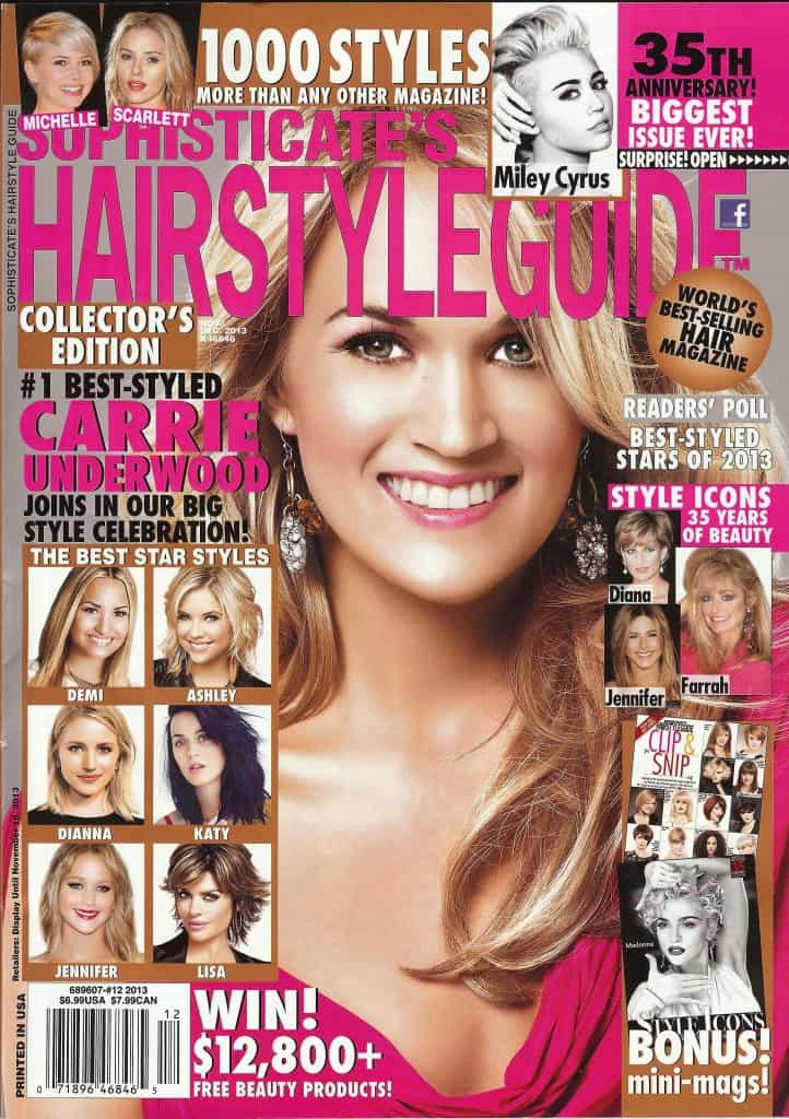 hair style book hairstyle guide magazine hairstyles 8724