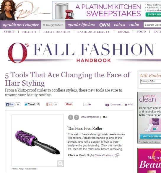 Oprah web site
