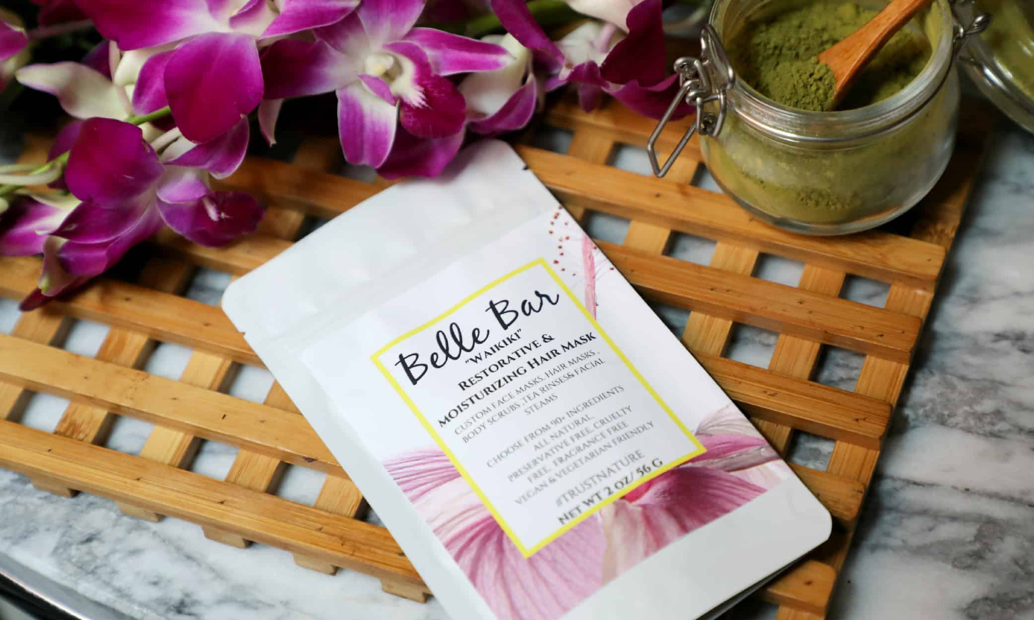 Belle Bar Waikiki Restorative & Moisturizing Hair Mask