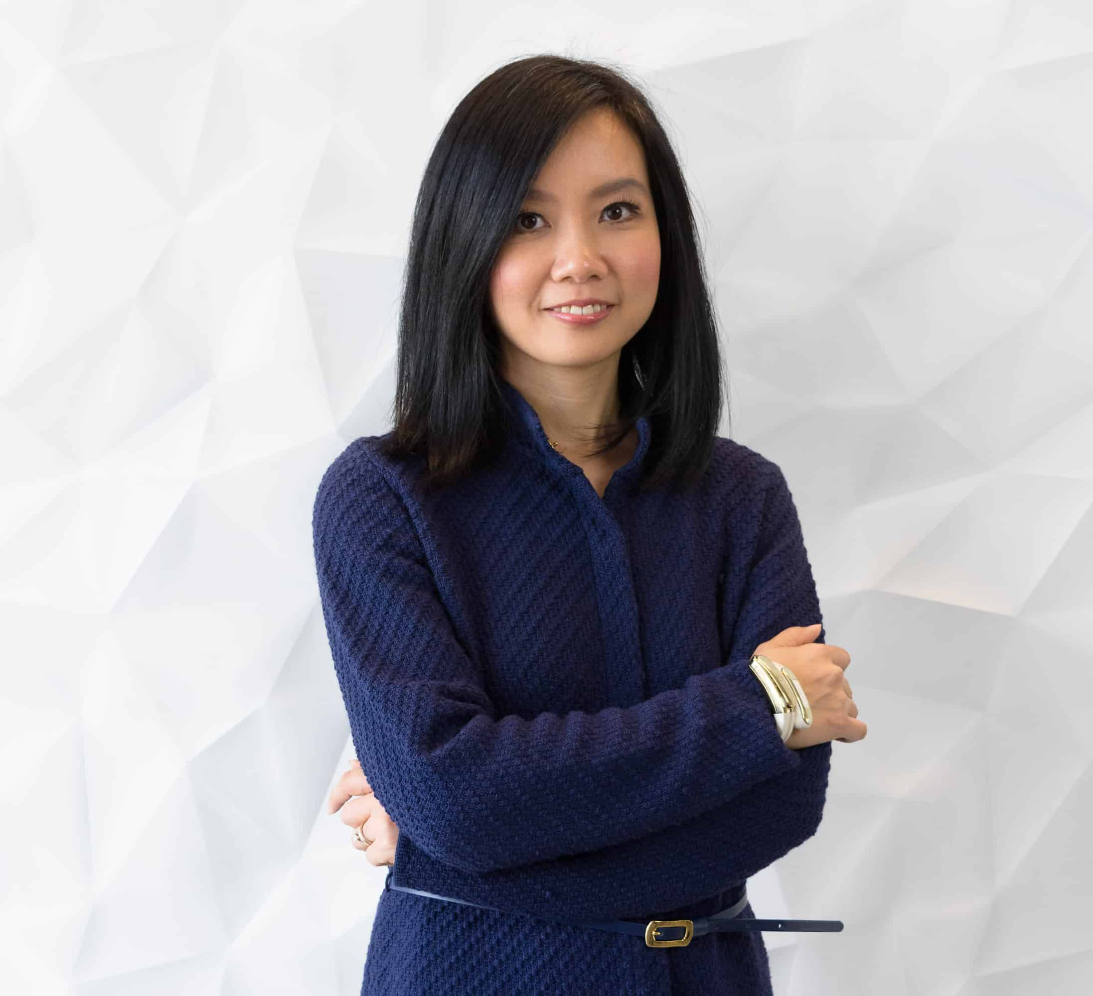 Angela Pan, Founder and CEO of the Helix Cuff