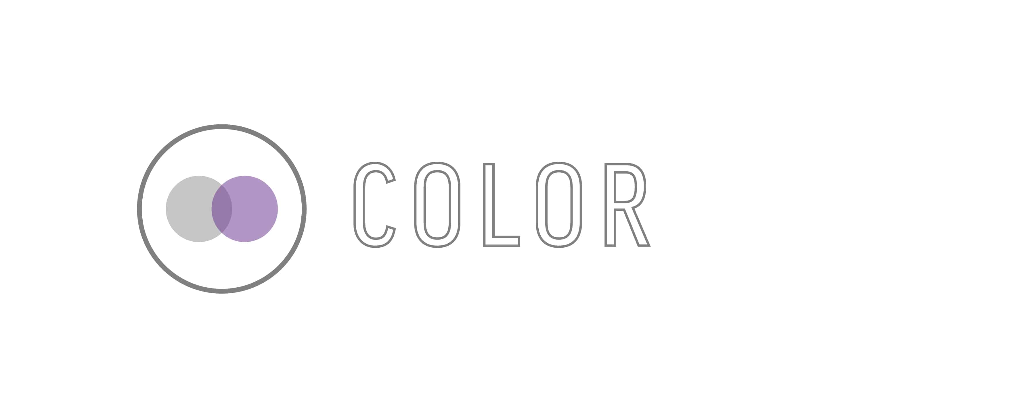 """Color"" Graphic used for Hair Goals for 50 years old blog post"