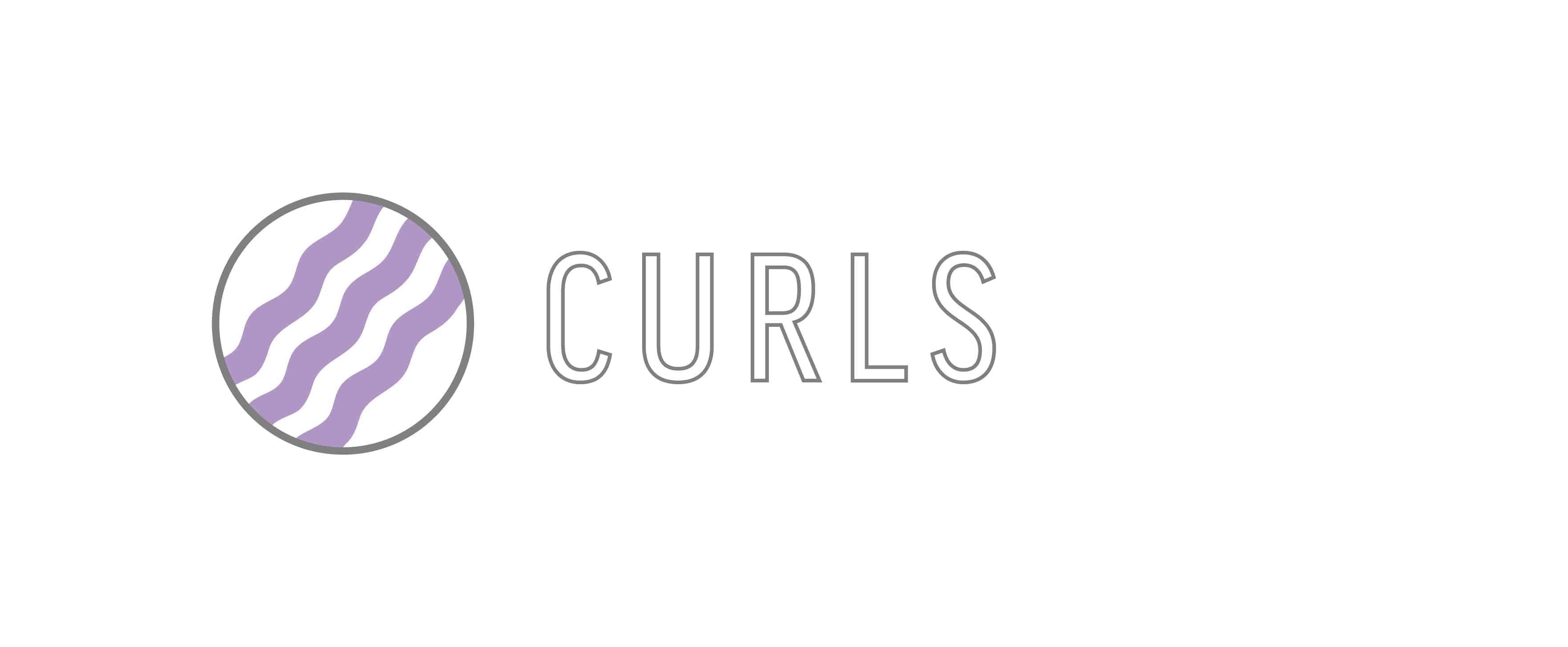 """Curls"" Graphic used for Hair Goals for 50 year olds"