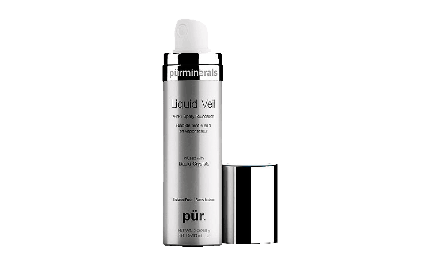 Liquid Veil 4-in-1 Spray Foundation by pur