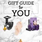"Graphic for ""Gift Guide for YOU"" Blog Post on Click n Curl Website"