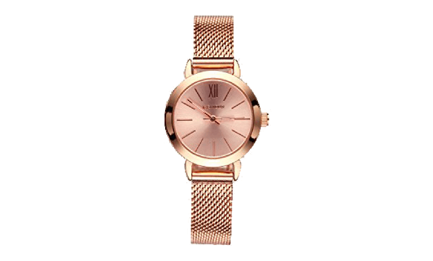 Rose Gold and Pink Womens Watch